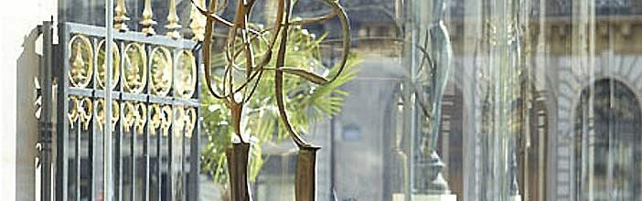Mise en espace de 12 sculptures au restaurant de L'Opéra Garnier