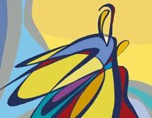 <b>» Carte à jouer…»</b>    toile numérique  2008 2011